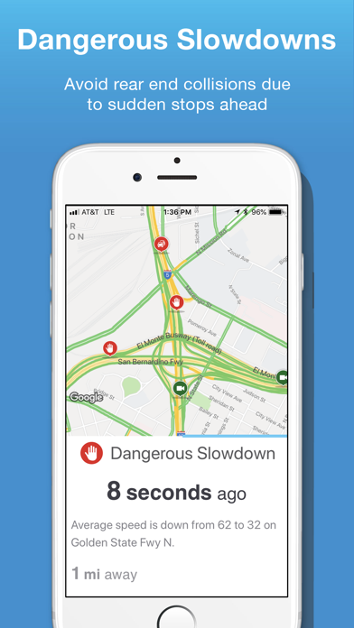 Inrix Traffic review screenshots