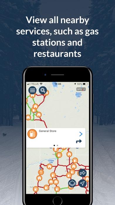 Sask Snowmobile Trails 2019-20 screenshot 3