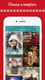 Christmas Cards - Photo Editor iphone images