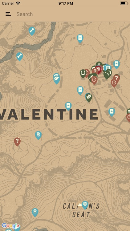 Unofficial Map for RDR2