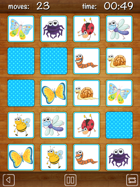 Memory Match for kids - find pairs, match cards and train your memory and concetration! screenshot