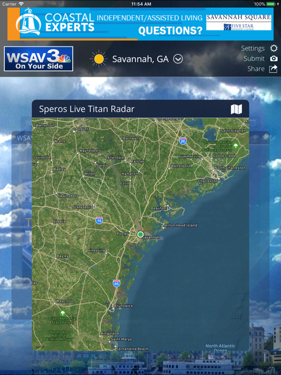 WSAV Weather iOS Application Version 4 10 400 - iOSAppsGames