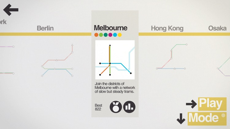 Mini Metro screenshot-2