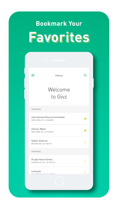 Givz screenshot