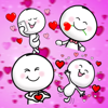 Cute Love Stickers kawai