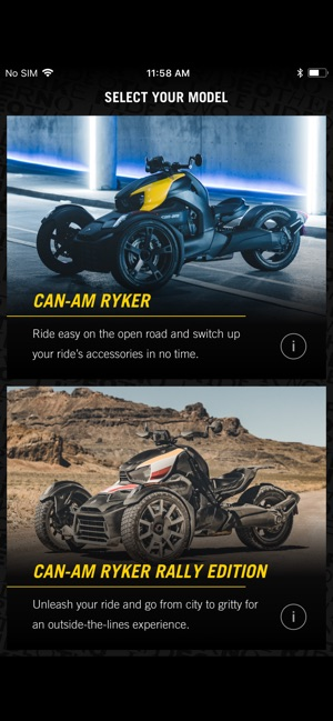 CAN-AM RYKER RIDE BUILDER on the App Store