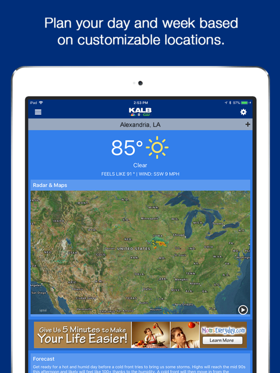 KALB-TV News Channel 5 iOS Application Version 3 2 5
