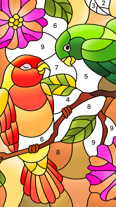 Color Fun - Color by Number screenshot 6