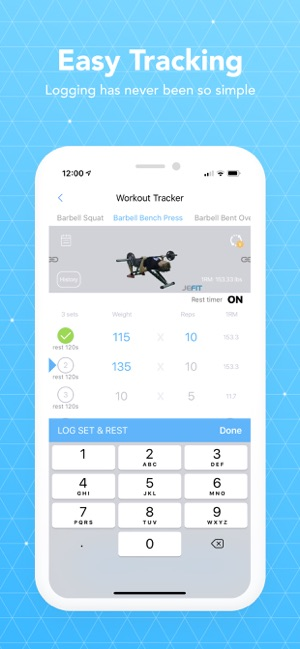 JEFIT Workout Planner Gym Log on the App Store