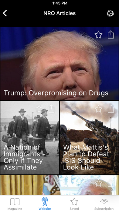 National Review Screenshot