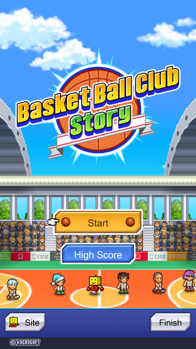 Screen Shot Basketball Club Story 4