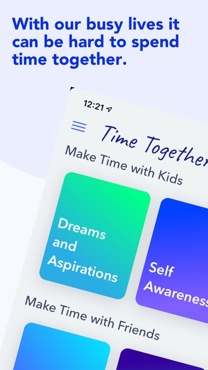 Time Together Family Questions
