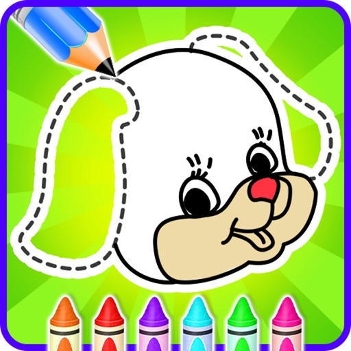 Coloring And Drawing Animals icon