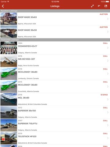 Скриншот из MarketBook
