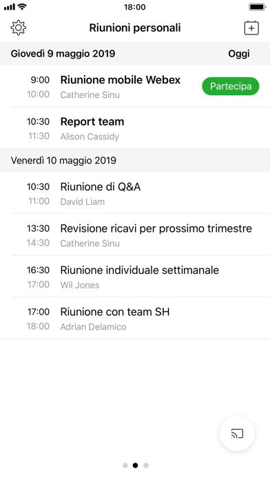 Screenshot for Cisco Webex Meetings in Italy App Store