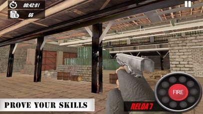 Gun Shooting Target Range screenshot 2