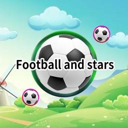 Football and stars