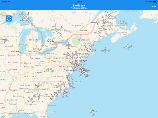 SkyTrack - The Flight Tracker-ipad-3