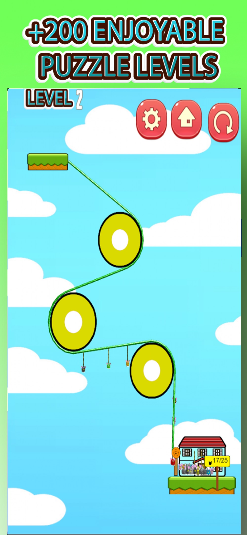 Rope Help Furby Cheat Codes