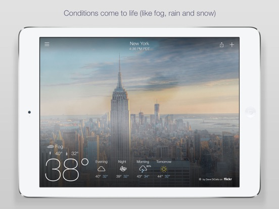 Yahoo Weather-ipad-1