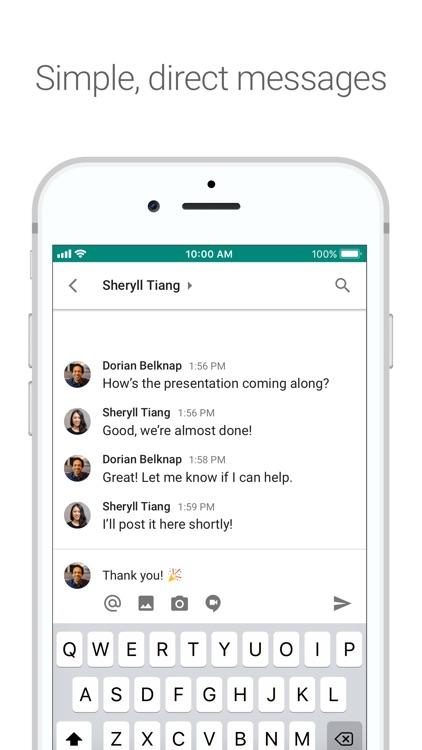 Google Hangouts Chat screenshot-3