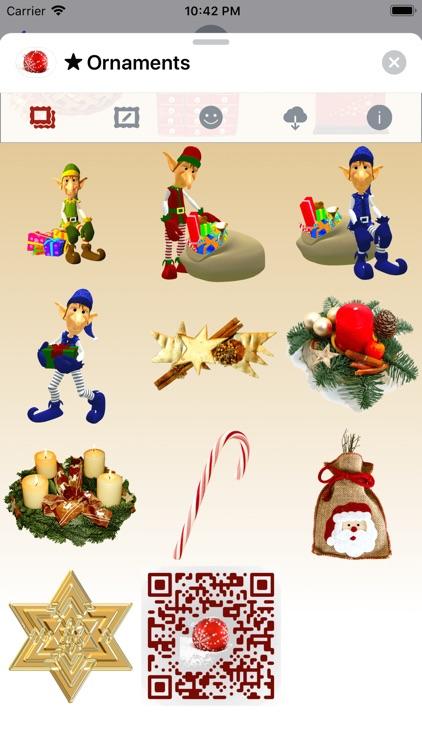 Christmas Ornaments • Stickers screenshot-9