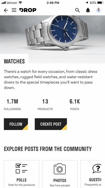 Drop - Fuel Your Passions screenshot-3