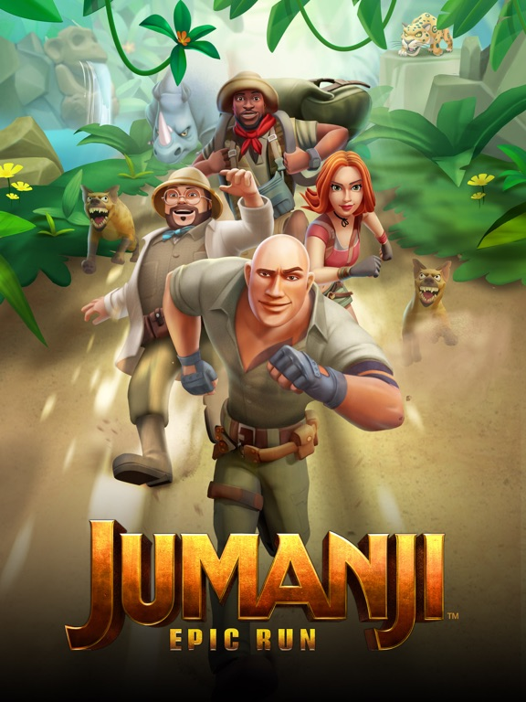 Jumanji: Epic Run на iPad