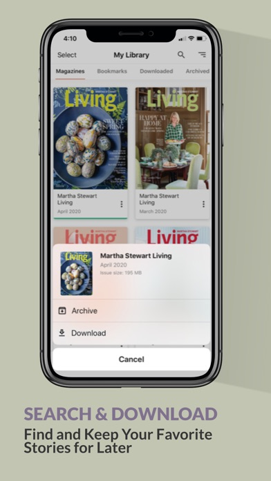 Martha Stewart Living review screenshots