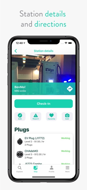 ChargeHub EV Map on the App Store
