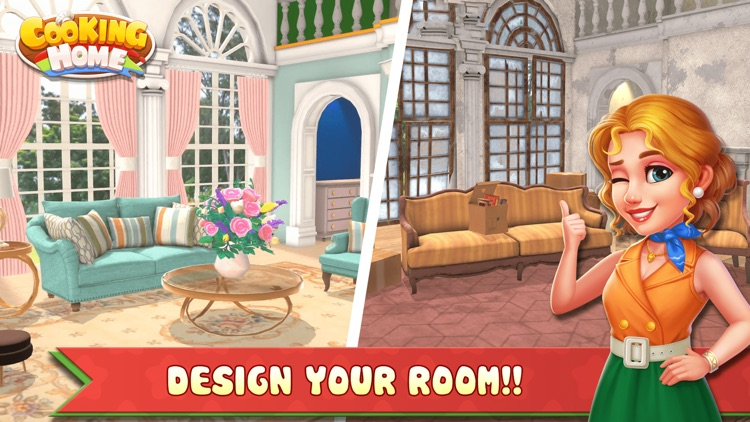 Cooking Home: Cooking & Design screenshot-6
