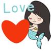 Chloe Little Mermaid Stickers