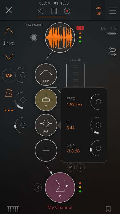 Скриншот №3 к AUM - Audio Mixer