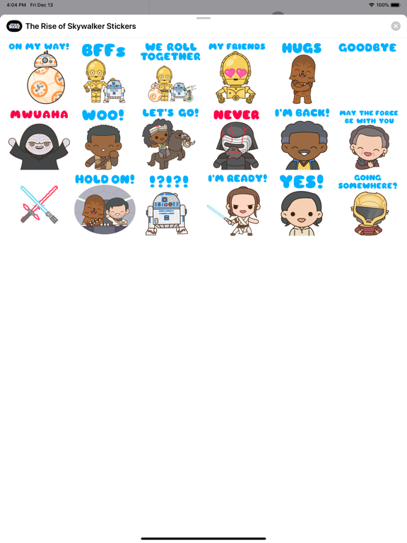 The Rise of Skywalker Stickersのおすすめ画像3
