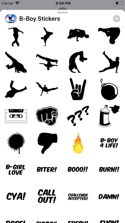 B-Boy Stickers