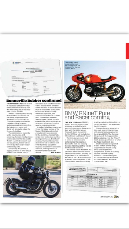 Australian Motorcycle News Mag screenshot-4