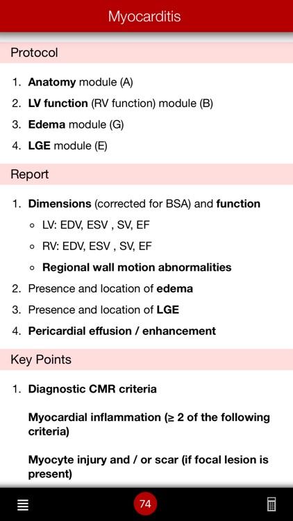 CMR Pocket Guide screenshot-5