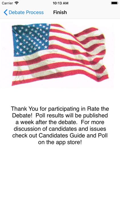 Rate the Debate screenshot-7