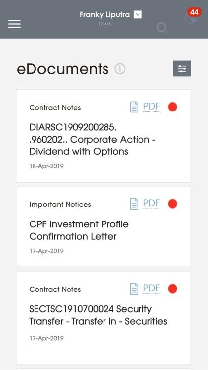 Bank of Singapore (for iPhone) screenshot-3