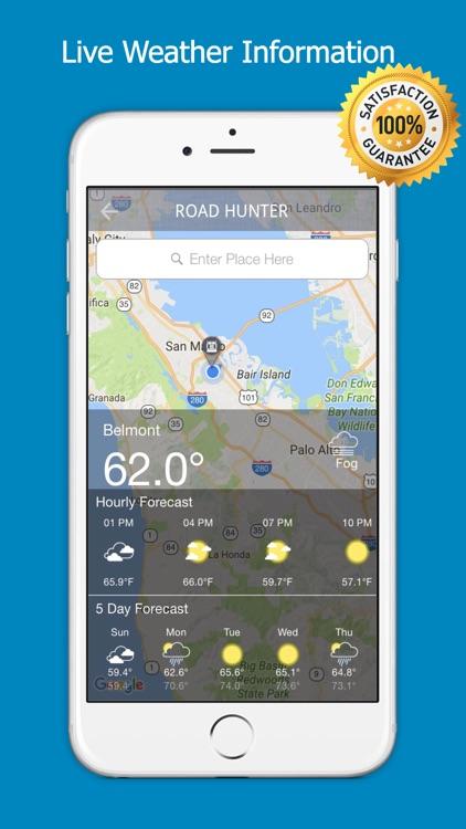 Truck Navigation - Road Hunter screenshot-3