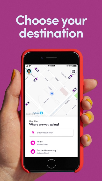 Lyft screenshot-0