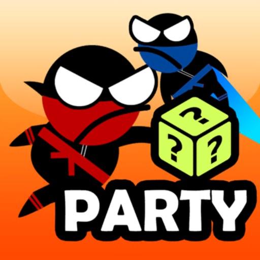 Jumping Ninja Party 2 Player