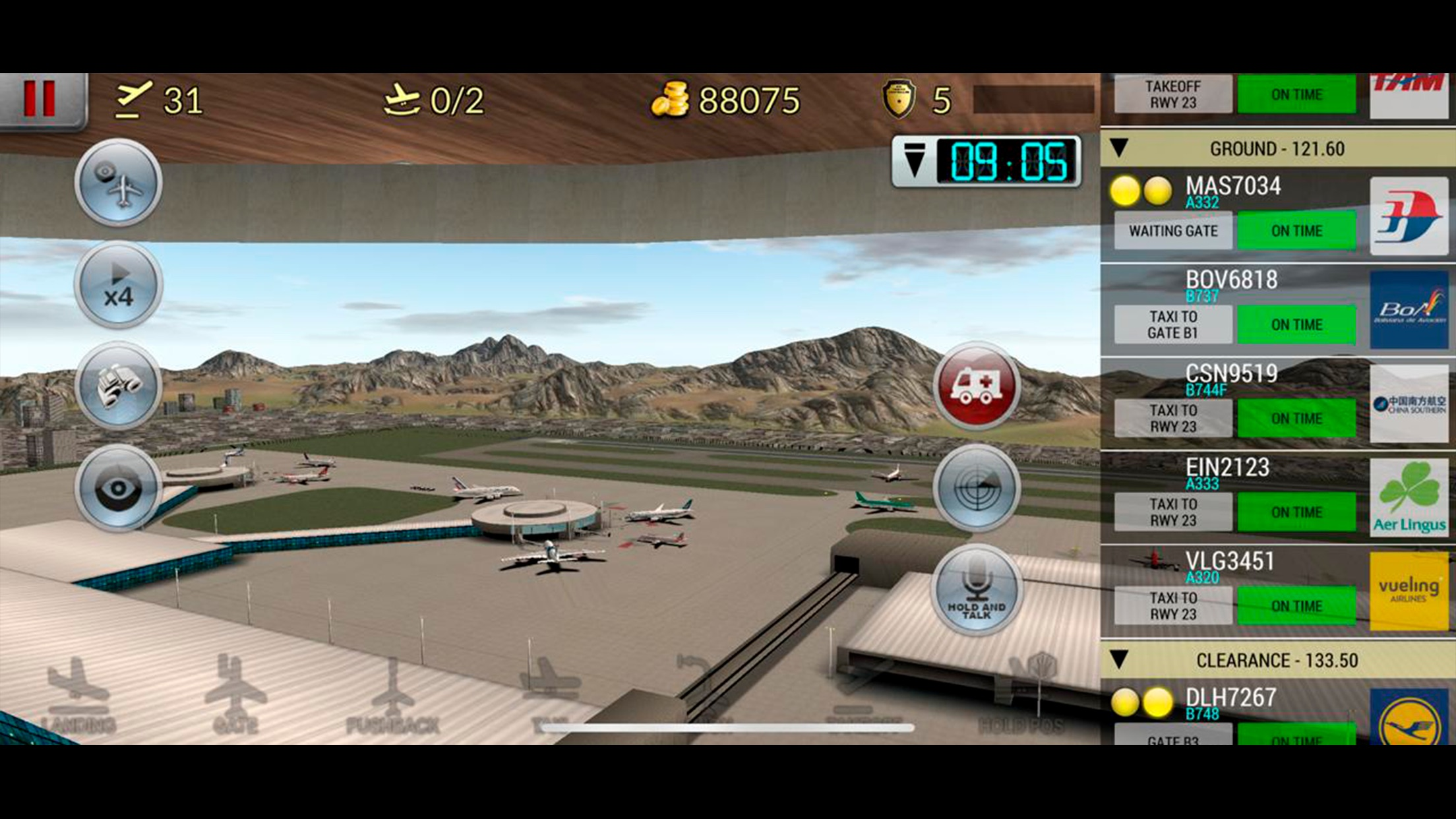 Unmatched Air Traffic Control Screenshot