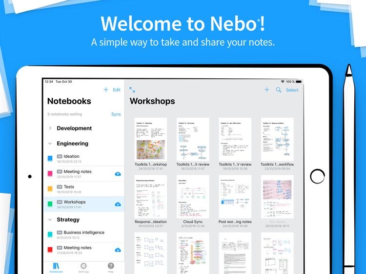 Nebo Professional note-taking screenshot-0