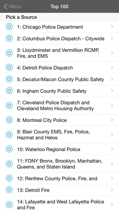 5 0 Radio Police Scanner review screenshots
