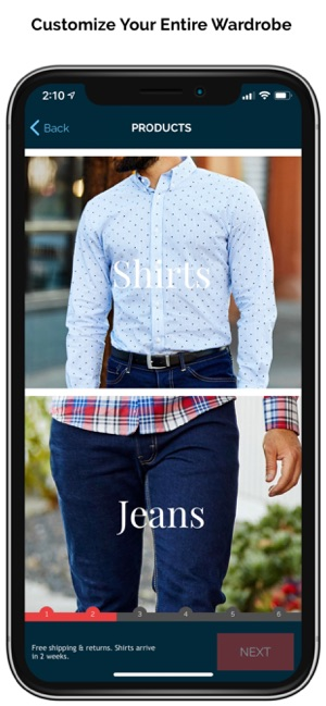 f31f82a01  MTailor - Custom Clothing on the App Store