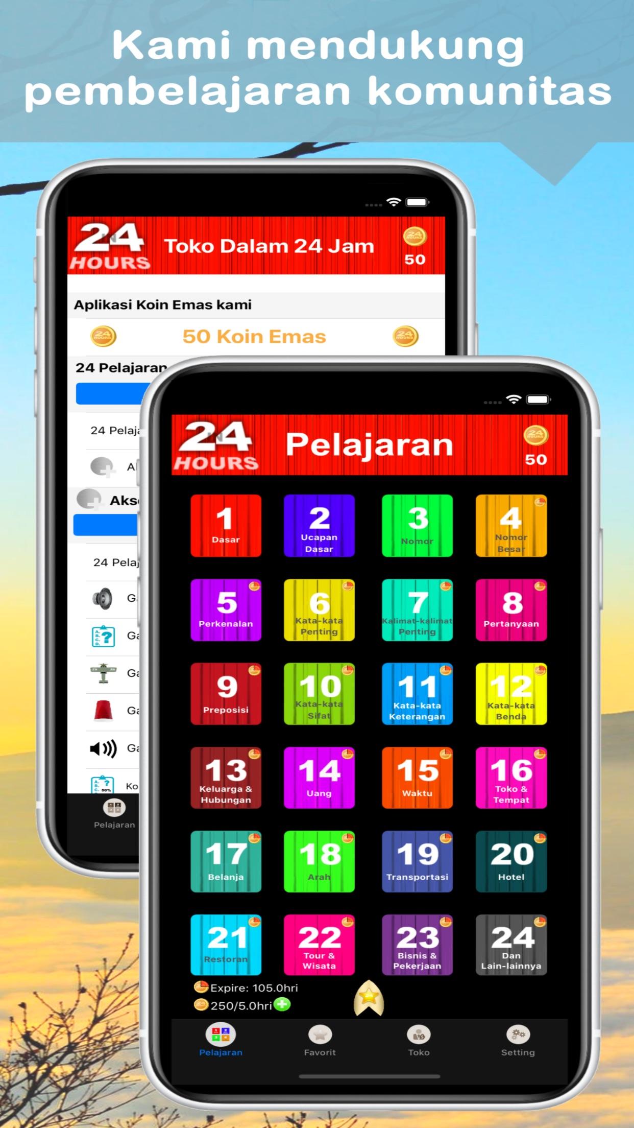 Dalam 24 Jam Belajar Bahasa Screenshot
