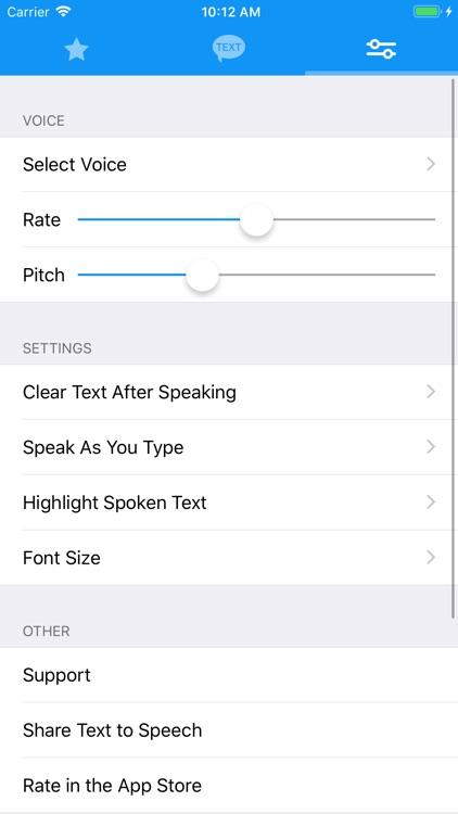 Text to Speech! screenshot-4