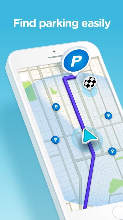 Waze Navigation & Live Traffic screenshot-5