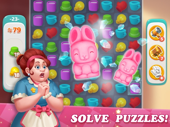Dream Home Match 3 Puzzles Gam screenshot 9